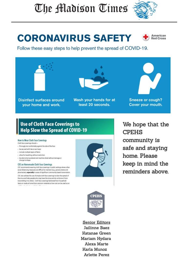Coronavirus Saftey