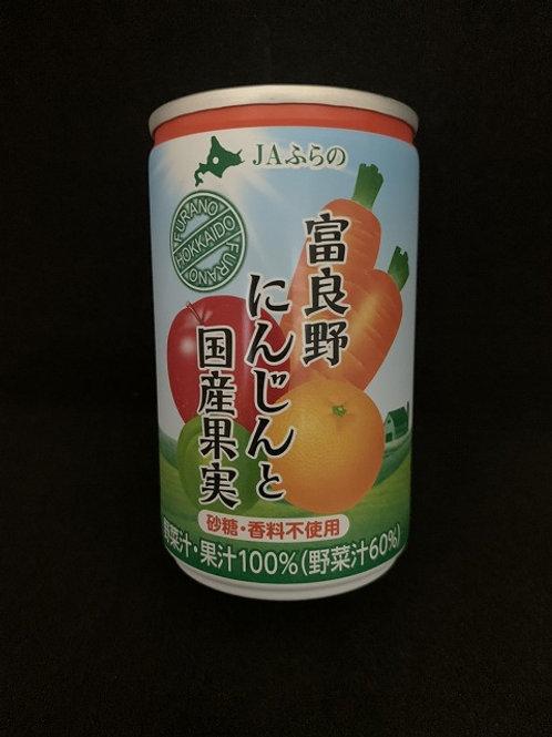 富良野にんじんと国産果実 160g(1本)