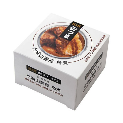 K&K 缶つまプレミアム 群馬県産 赤城山麓豚角煮 105g(1缶)