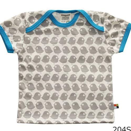 【loud + proud/ドイツ】半袖Tシャツ Stone 74/80