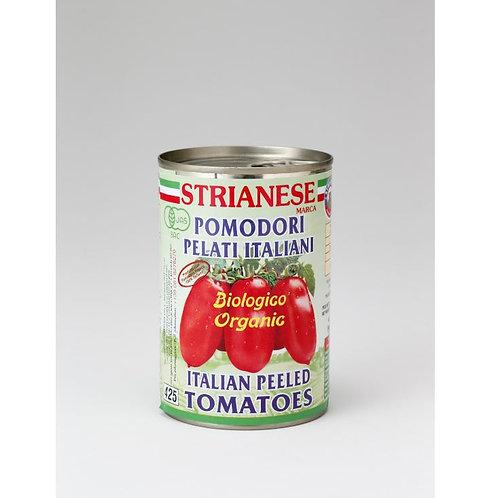 ストリアネーゼ 有機トマト缶 ホール 400g(1缶)