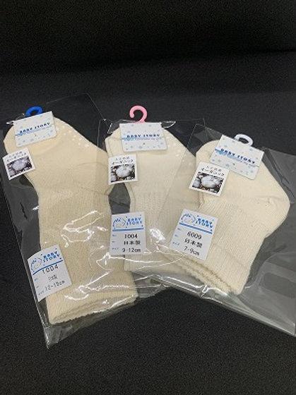 日本製 オーガニック ソックス 新生児&ベビー 靴下