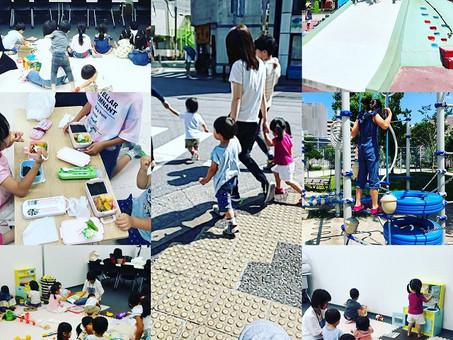 海の日の企業出張保育in福岡🐣