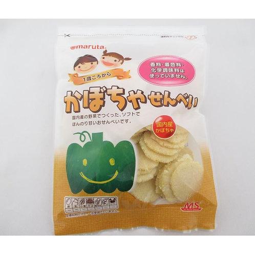 (1歳頃~)MS 砂糖不使用 かぼちゃせんべい 30g(1袋)