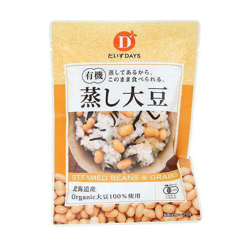 だいずデイズ 有機蒸し大豆 100g(1袋)
