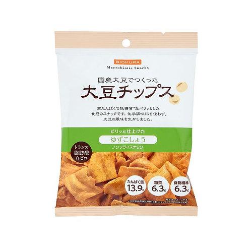 ノンフライ 大豆チップス ゆずこしょう 40g(1袋)