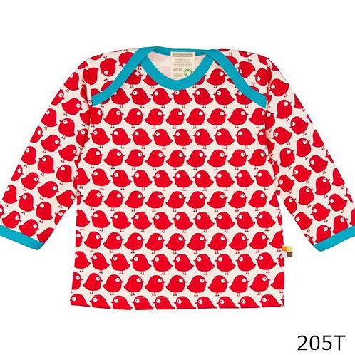 【loud + proud/ドイツ】長袖Tシャツ Tomato 74/80