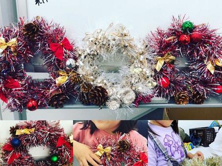 クリスマスの製作活動in福岡🐣