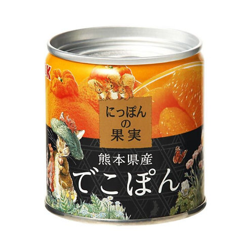 KK にっぽんの果実 熊本県産でこぽん 1缶110g