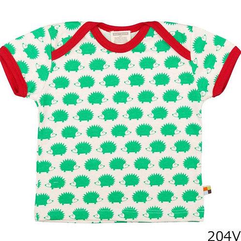 【loud + proud/ドイツ】半袖Tシャツ Verde 74/80