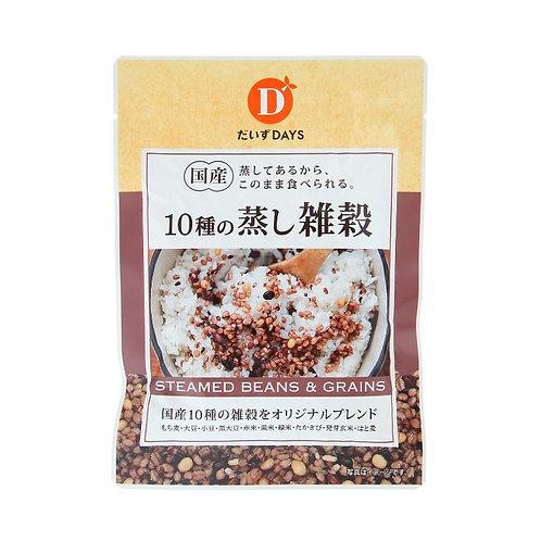 だいずデイズ 国産10種の蒸し雑穀 70g(1袋)