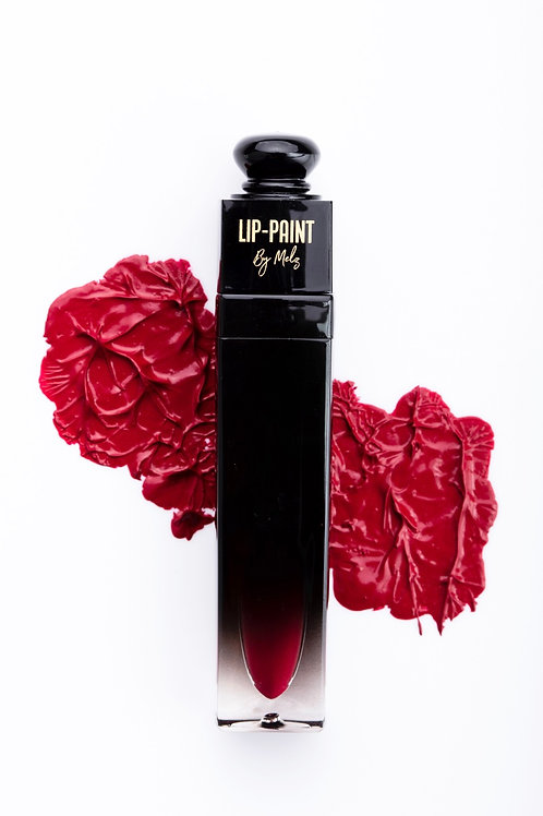 Burgundy Lip-Paint Matte