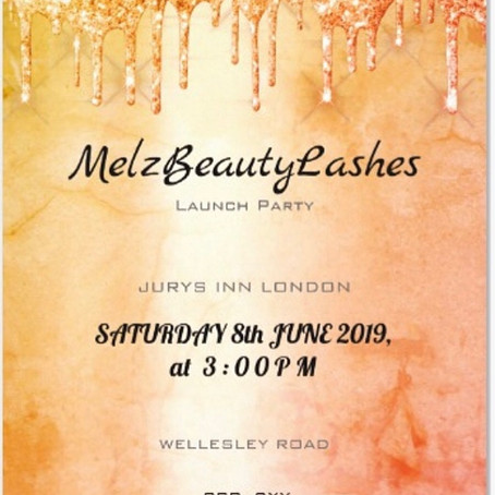 8th June 2019 MELZBEAUTYLASHES LAUNCH PARTY