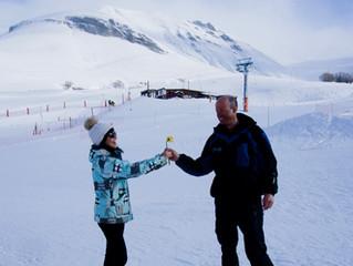 Les skieuses à l'honneur