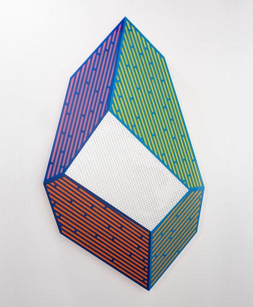 "Jay Walker, ""Prismatic Polygon V,"" 2020"