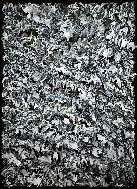 """Nancy Agati, """"Cadet Blue"""" from the """"Undercurrent"""" series"""