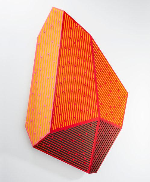 "Jay Walker, ""Prismatic Polygon IV,"" 2020"