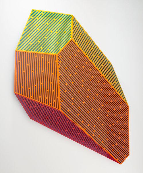 """Jay Walker, """"Prismatic Polygon II,"""" 2020"""
