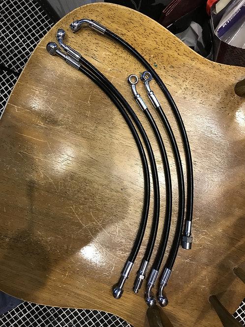 BMW R1100GS Шланги тормозные армированные