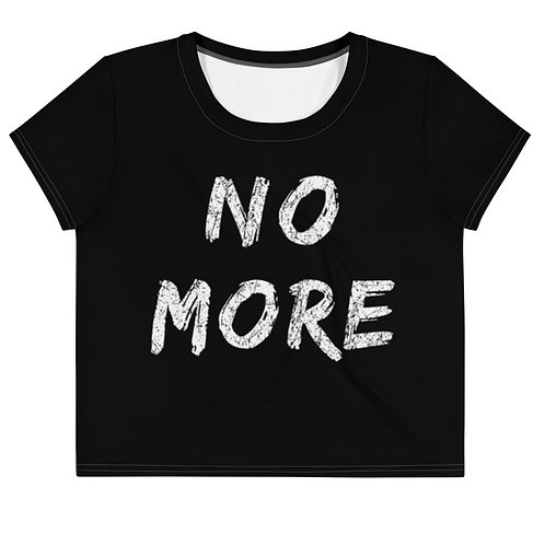 No More - Cropped Tee