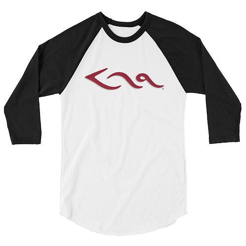 KHA Logo - 3/4 Sleeve Shirt