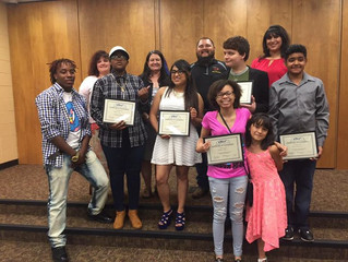 2015-2016 Graduates from the 180 after school program.