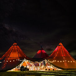 Event Rental Tent Tipi Under Canvas
