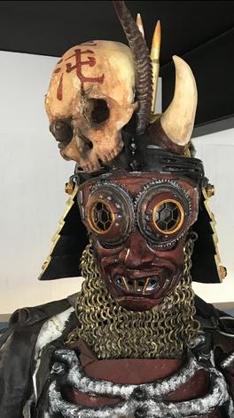 Samuri Oni Mask
