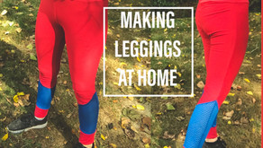 Making my own leggings at home