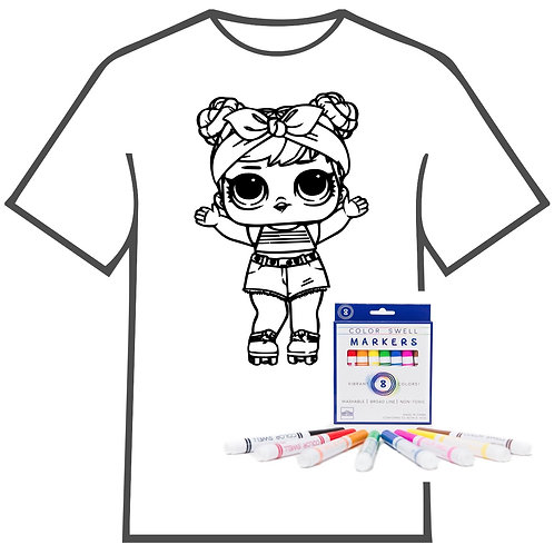 LOL Coloring Book T-shirt