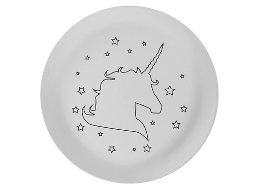 Star the Unicorn Plate