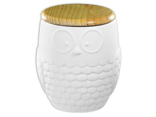 Modern Owl Canister