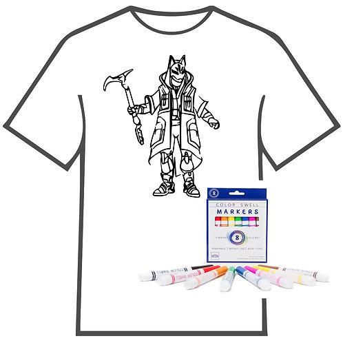 Fortnite Coloring Book T-shirt