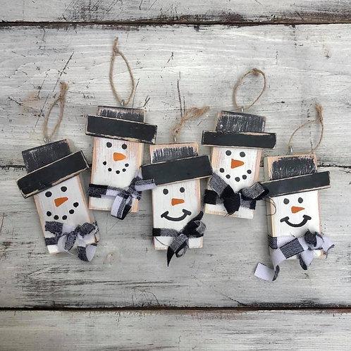 Snowman Ornament Making Kit
