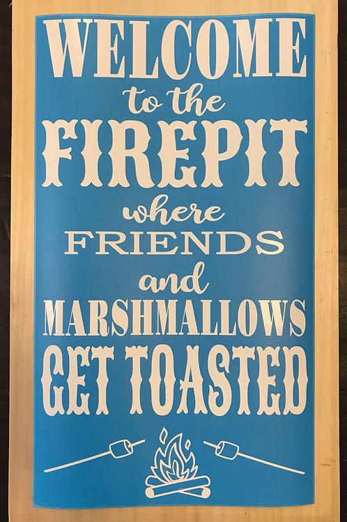 Firepit Sign DIY Kit