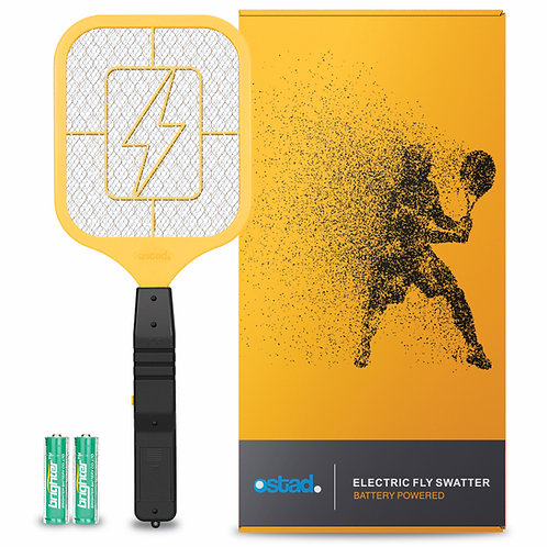 Ostad 3 Fly Swatter, Battery Powered, 4000 Volt