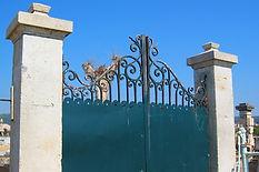 Portails anciens en pierre - Provence Var Les Arcs (83460)
