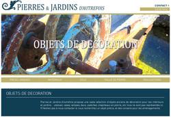 Pierres et Jardins - Pièces uniques