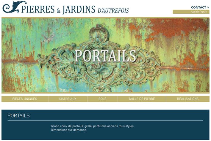 Pierres et Jardins - Portails