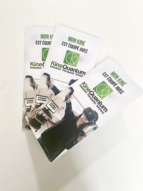 Brochures pour vos patients - pack de 50