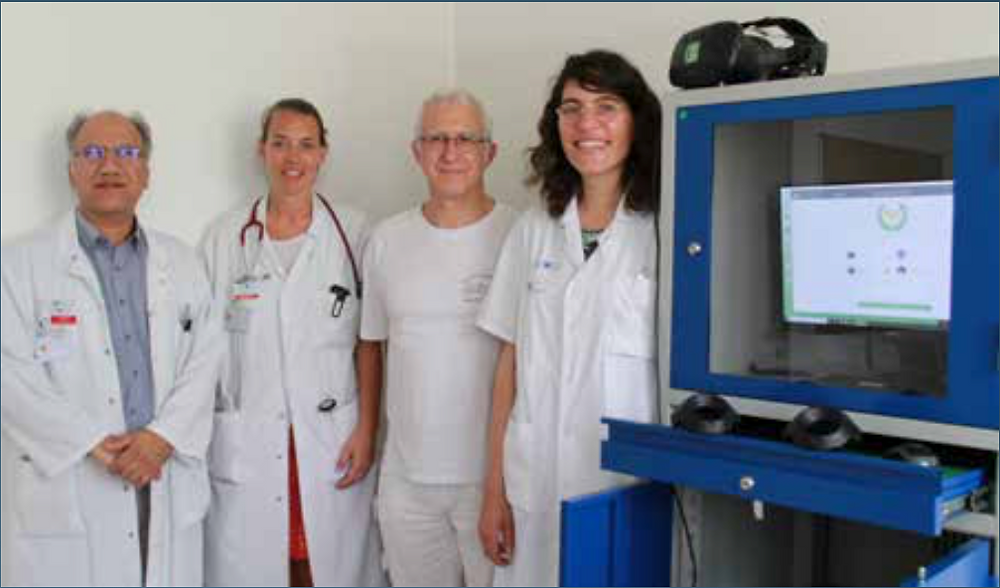 unité de rééducation Ostéoarticulaire et du Rachis, du service de Rééducation Neurolocomotrice Albert Chenevier