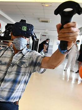 Recuperation mobilité réalité virtuelle rééducation KineQuantum