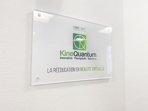 Plaque cabinet KineQuantum