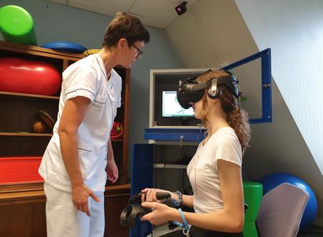 La rééducation en réalité virtuelle dans le groupe UGECAM Alsace