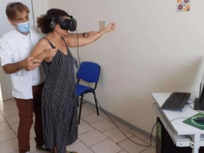 Quand la réalité virtuelle soulage la douleur des patients