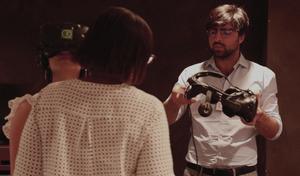Natahn Toledano explique la rééducation en réalité virtuelle