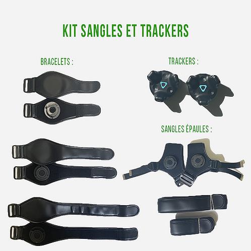 Kit sangles et trackers