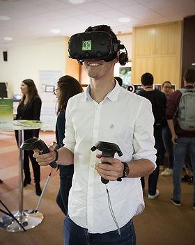 Rééducation réalité virtuelle plaisir KineQuantum