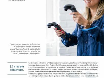 Les avantages de la réalité virtuelle immersive pour la rééducation