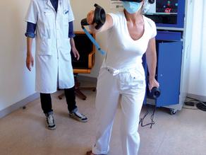 L'hôpital Albert-Chenevier (AP-HP) mise sur la réalité virtuelle